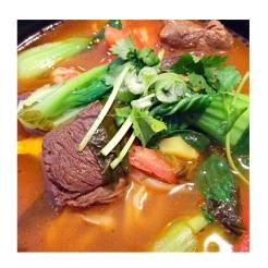 Beef Noodle Soup 牛腩汤面